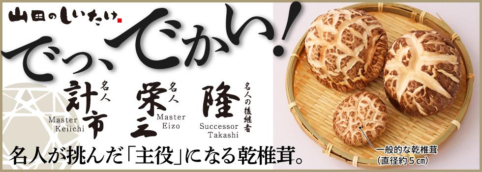 名人の超特大 乾椎茸(大葉) 2個セット